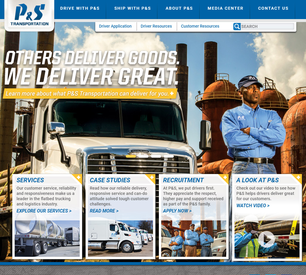 P&S transportation USA